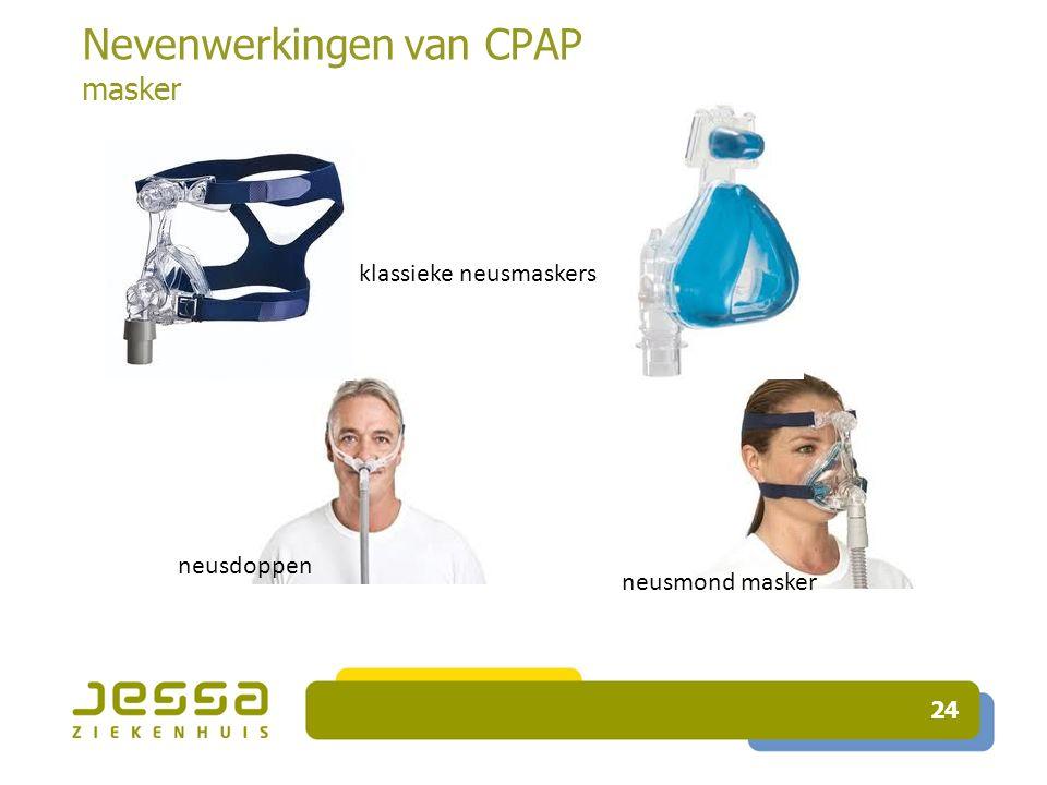 24 Nevenwerkingen van CPAP masker neusdoppen neusmond masker klassieke neusmaskers
