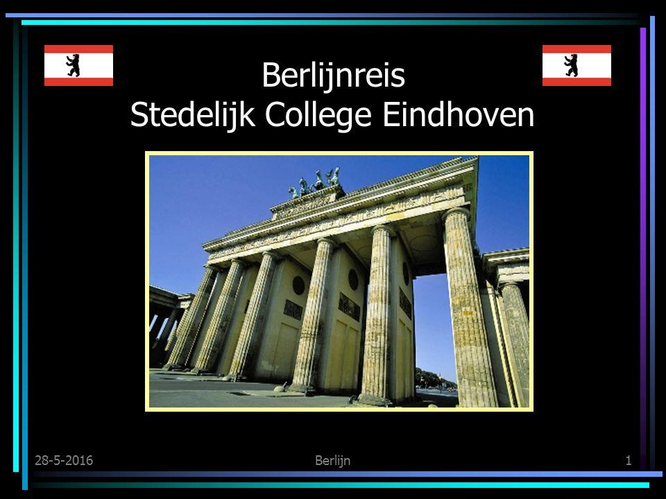 28-5-2016Berlijn1 Berlijnreis Stedelijk College Eindhoven