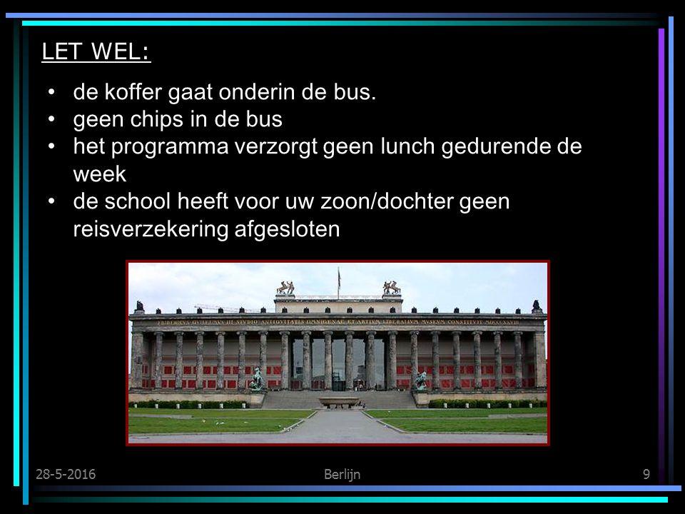 28-5-2016Berlijn9 LET WEL: de koffer gaat onderin de bus.