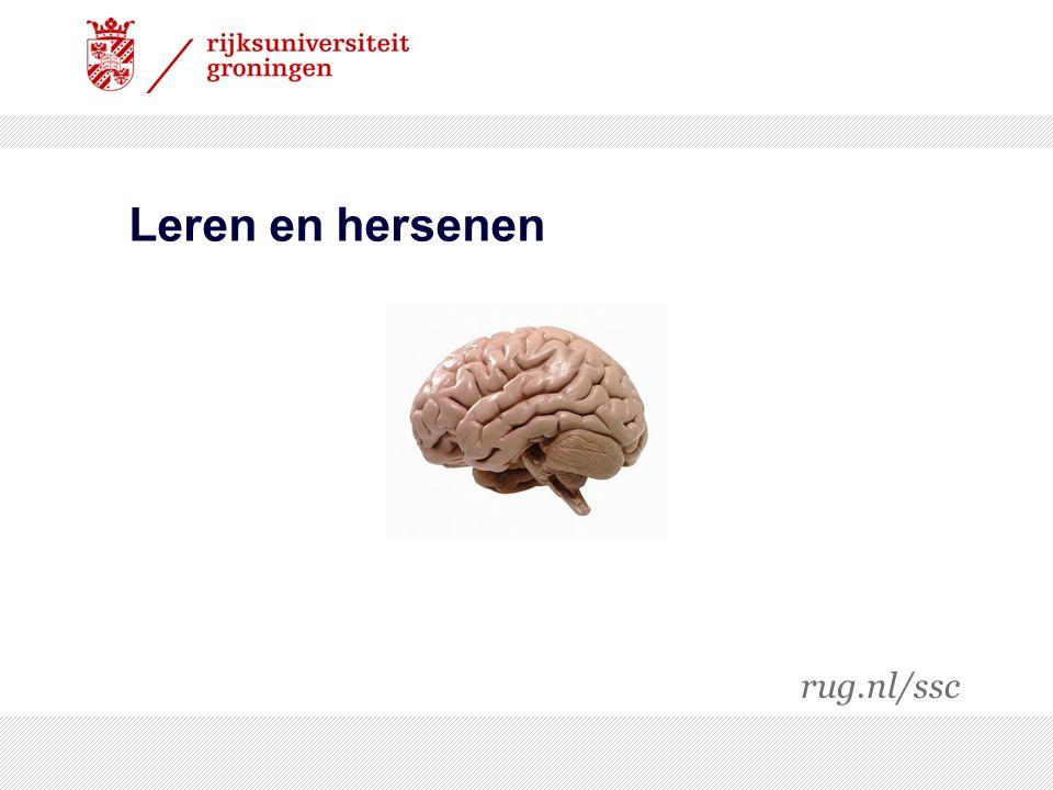Leren en hersenen rug.nl/ssc