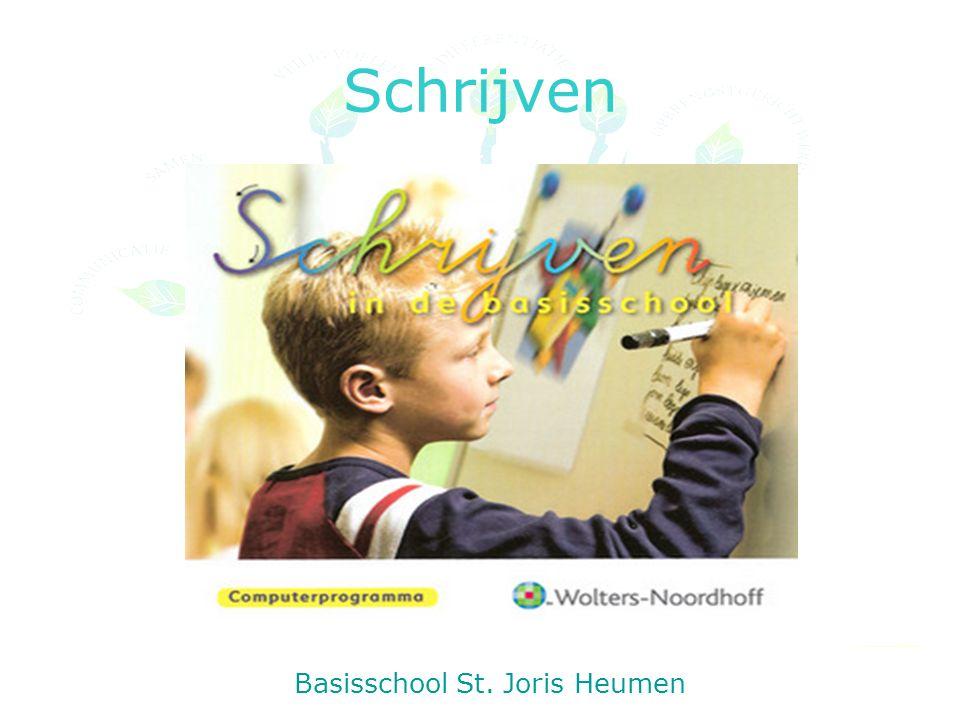 Schrijven Basisschool St. Joris Heumen