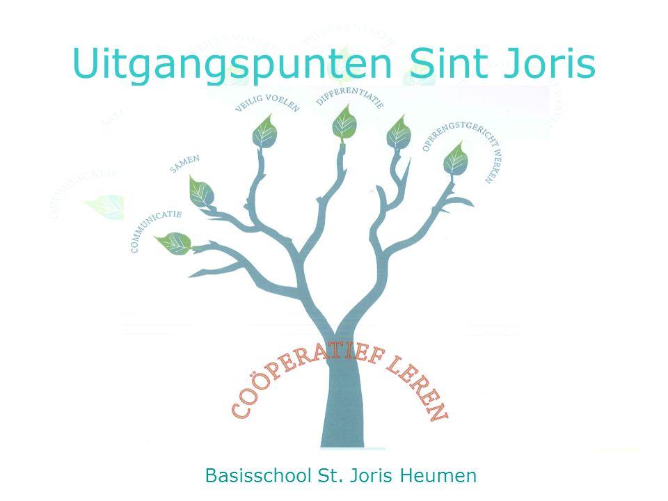 Uitgangspunten Sint Joris Basisschool St. Joris Heumen