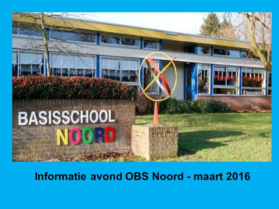Informatie avond OBS Noord - maart 2016