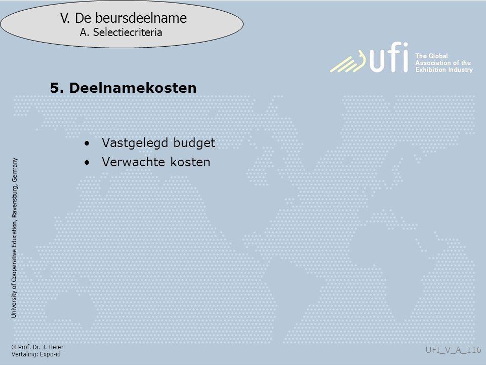 University of Cooperative Education, Ravensburg, Germany UFI_V_A_116 V.
