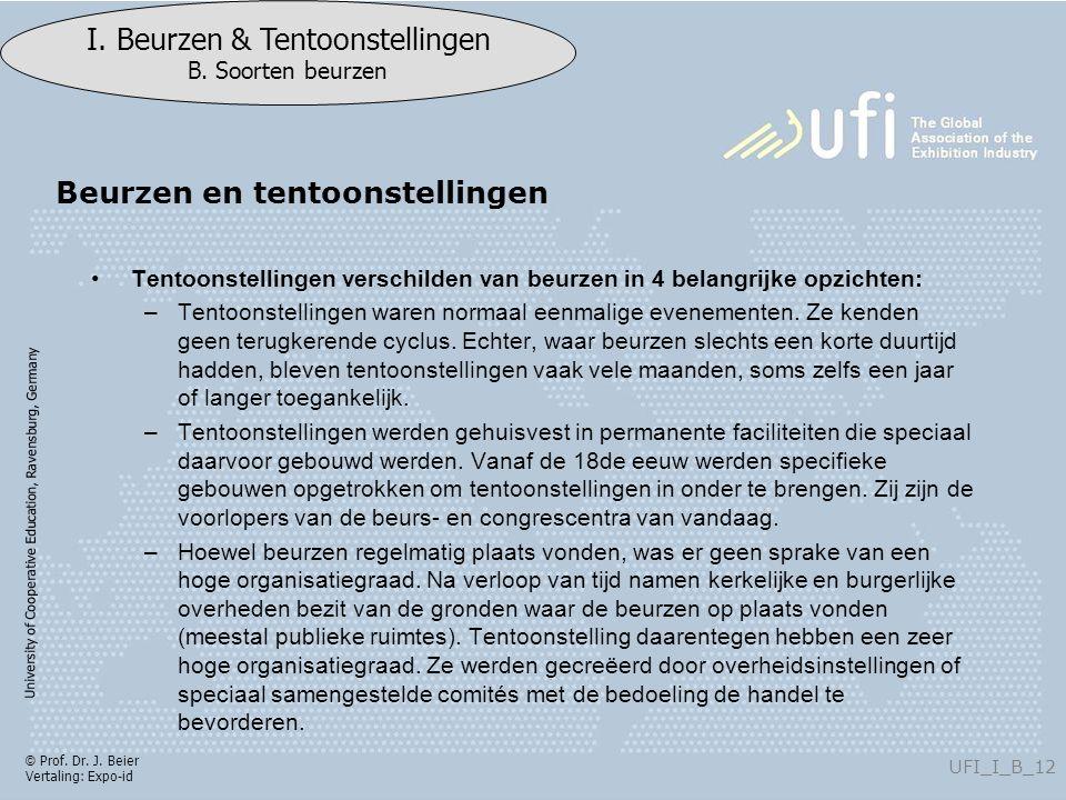 University of Cooperative Education, Ravensburg, Germany UFI_I_B_12 I.