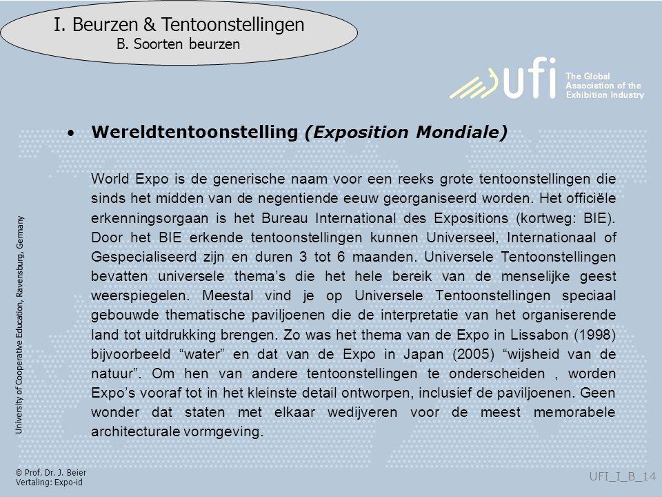 University of Cooperative Education, Ravensburg, Germany UFI_I_B_14 I.