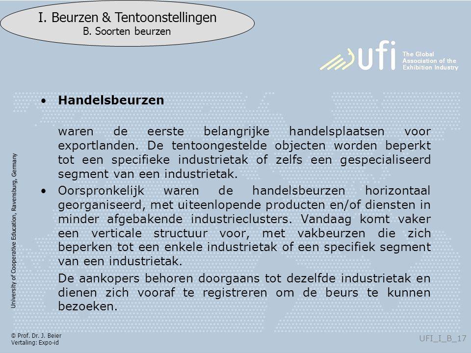 University of Cooperative Education, Ravensburg, Germany UFI_I_B_17 I.