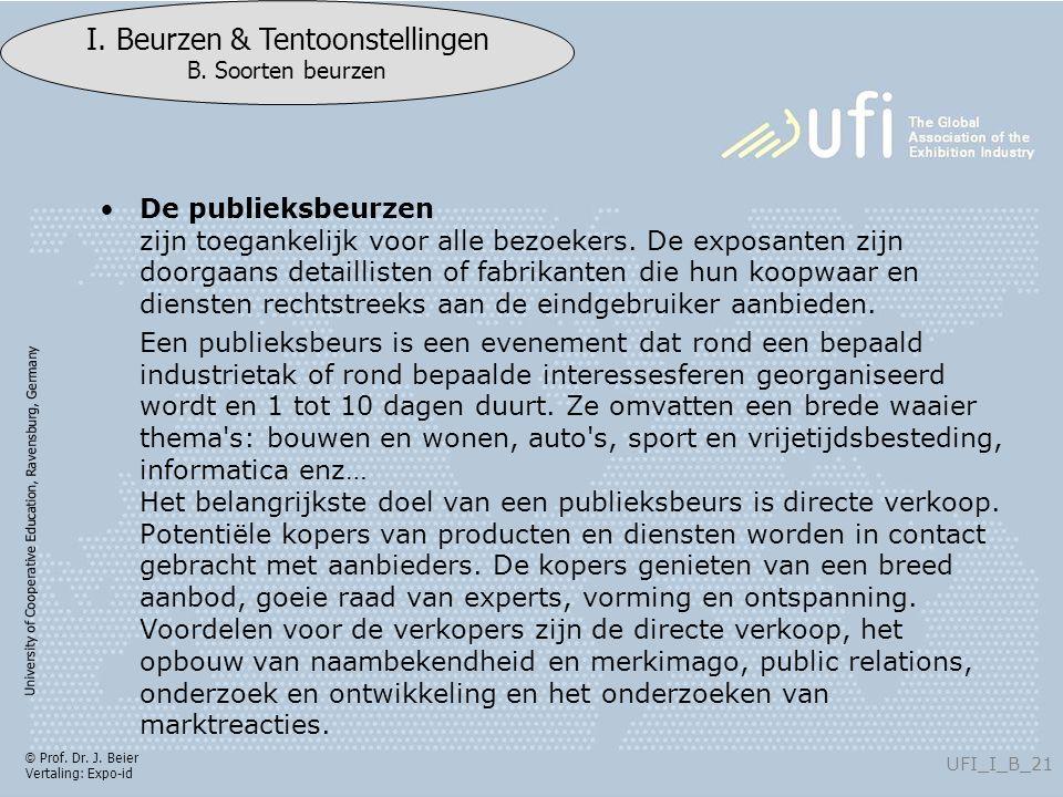University of Cooperative Education, Ravensburg, Germany UFI_I_B_21 I.