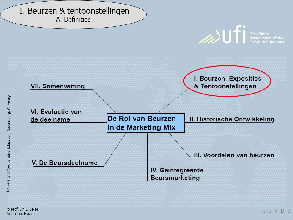 University of Cooperative Education, Ravensburg, Germany UFI_V_B_4 I.