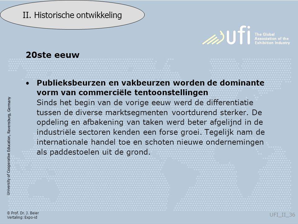 University of Cooperative Education, Ravensburg, Germany UFI_II_36 II.