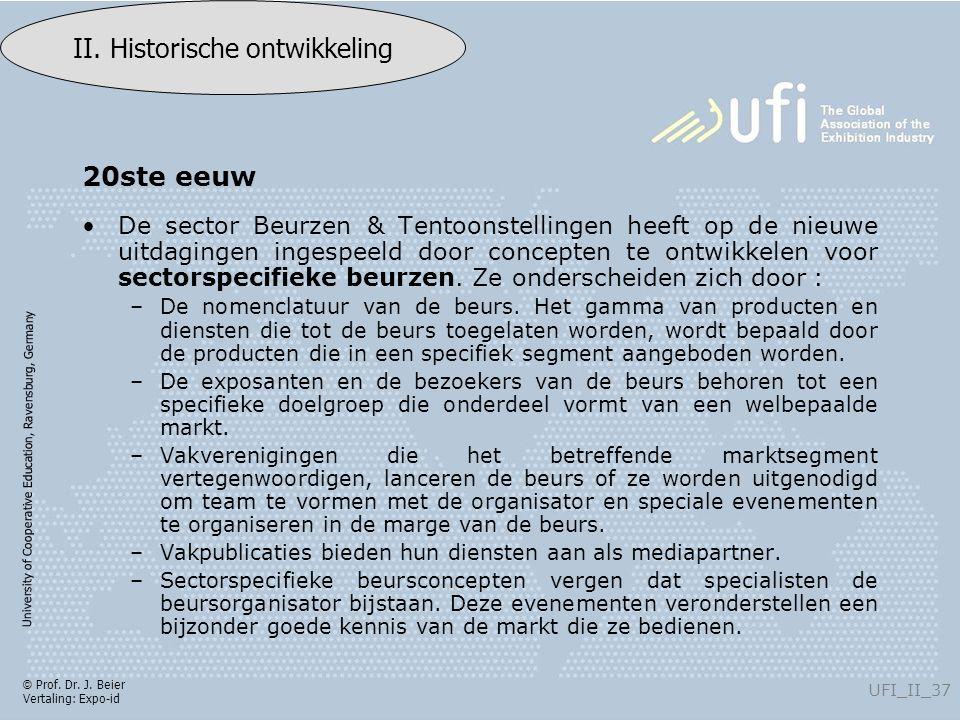 University of Cooperative Education, Ravensburg, Germany UFI_II_37 II.