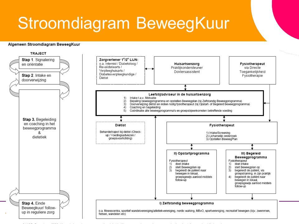 Stroomdiagram BeweegKuur