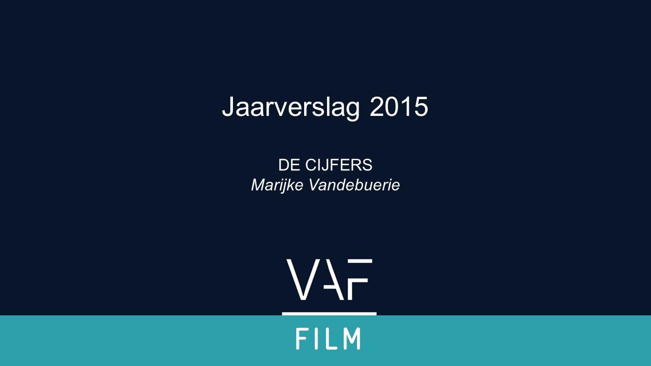 Verwelkoming & inleiding DE CIJFERS Marijke Vandebuerie Jaarverslag 2015