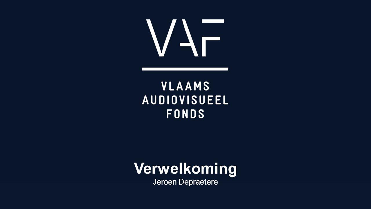 Verwelkoming & inleiding SCREEN FLANDERS Jan Roekens Jaarverslag 2015