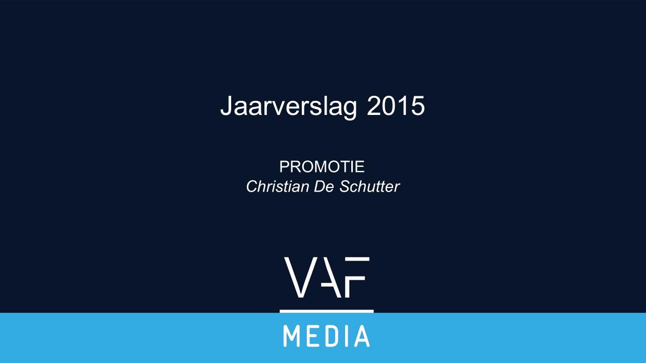 PROMOTIE Christian De Schutter Jaarverslag 2015