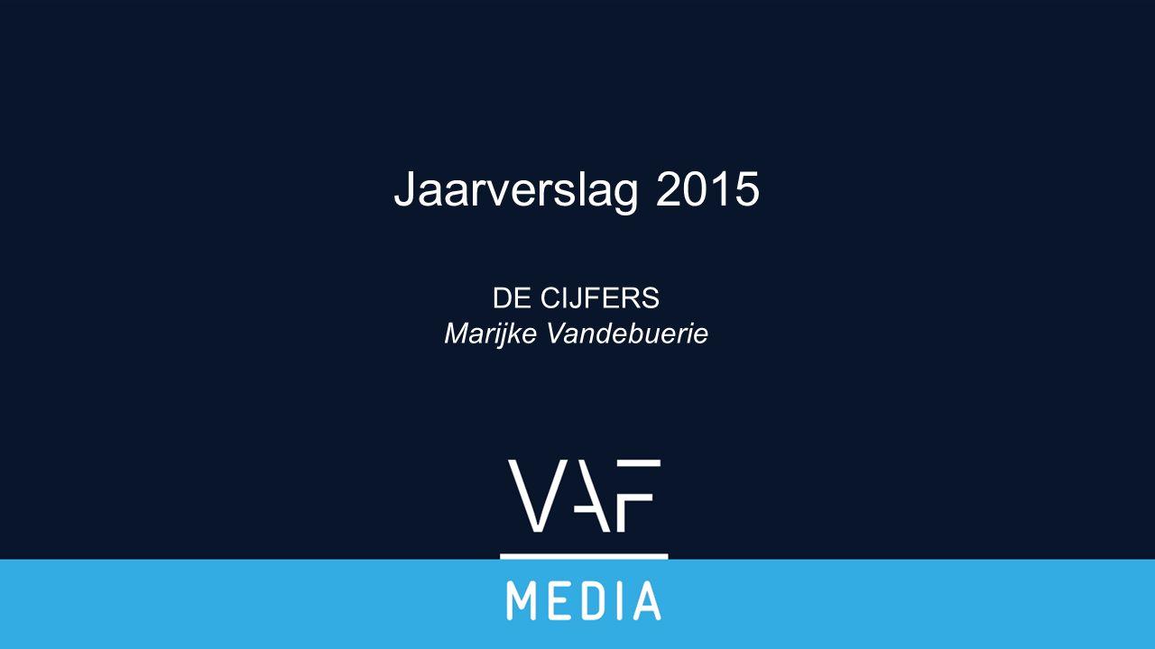 DE CIJFERS Marijke Vandebuerie Jaarverslag 2015