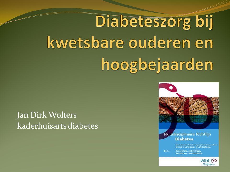 Jan Dirk Wolters kaderhuisarts diabetes