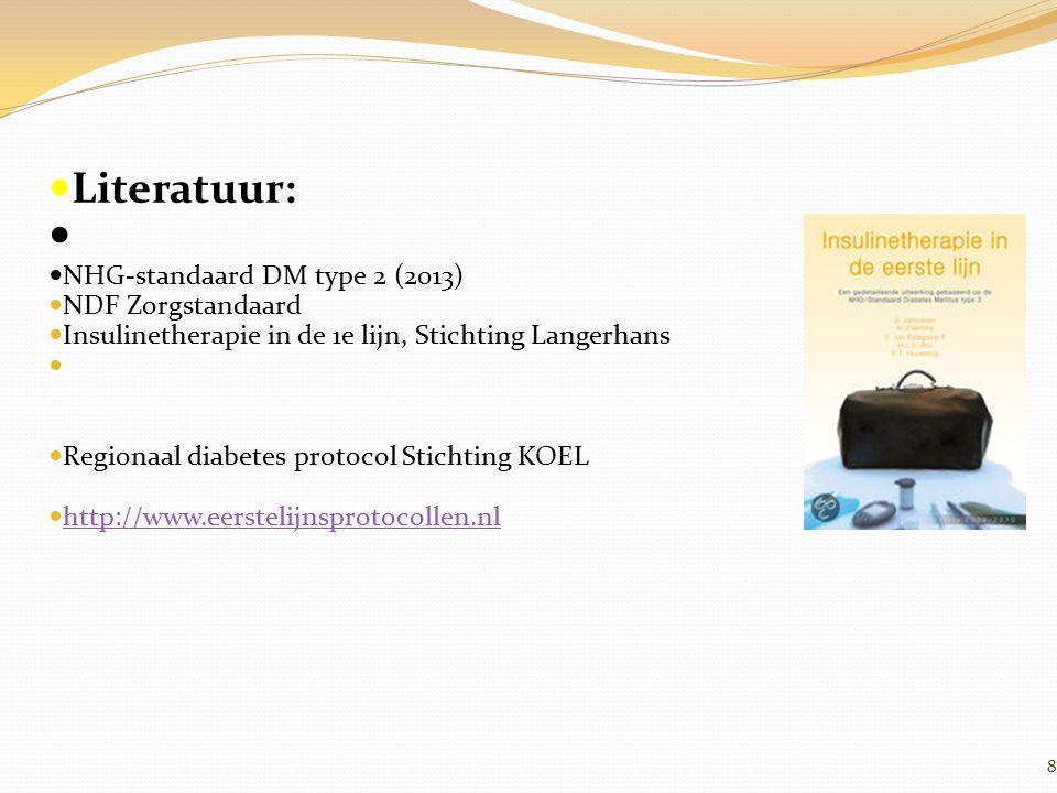 β-cel dysfunctie en anti-hyperglycemische therapie 100 0 Beta-cell function (%) 01015–25 Diabetes diagnose Basaal bolus regime Insuline behoefte Monotherapie falen Combinatie therapie met insuline Approximate time (years) Combinatie therapie Monotherapie 80 60 40 20 IGT UKPDS 16.