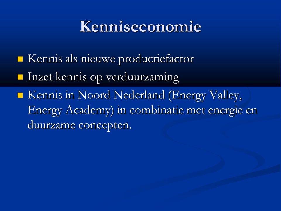 Nederland Relatief laag aandeel hernieuwbare energie in de totale energiemix (3.8% in 2010).