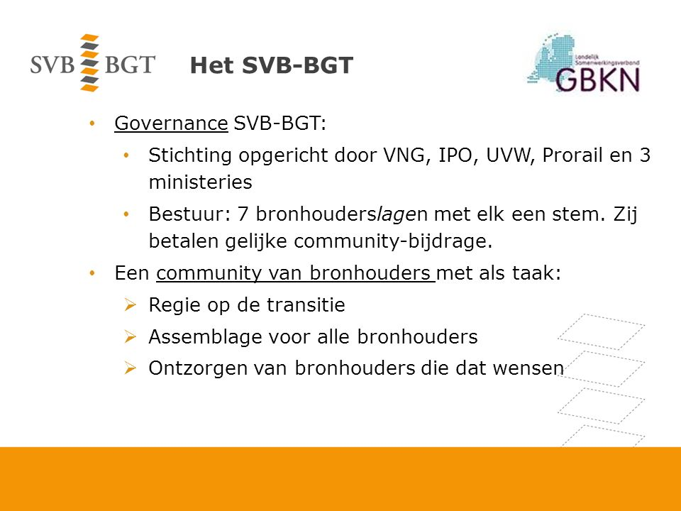 Routekaart Wet is in procedure gebracht, behandeling in kamercommissie op 14 maart 2013.