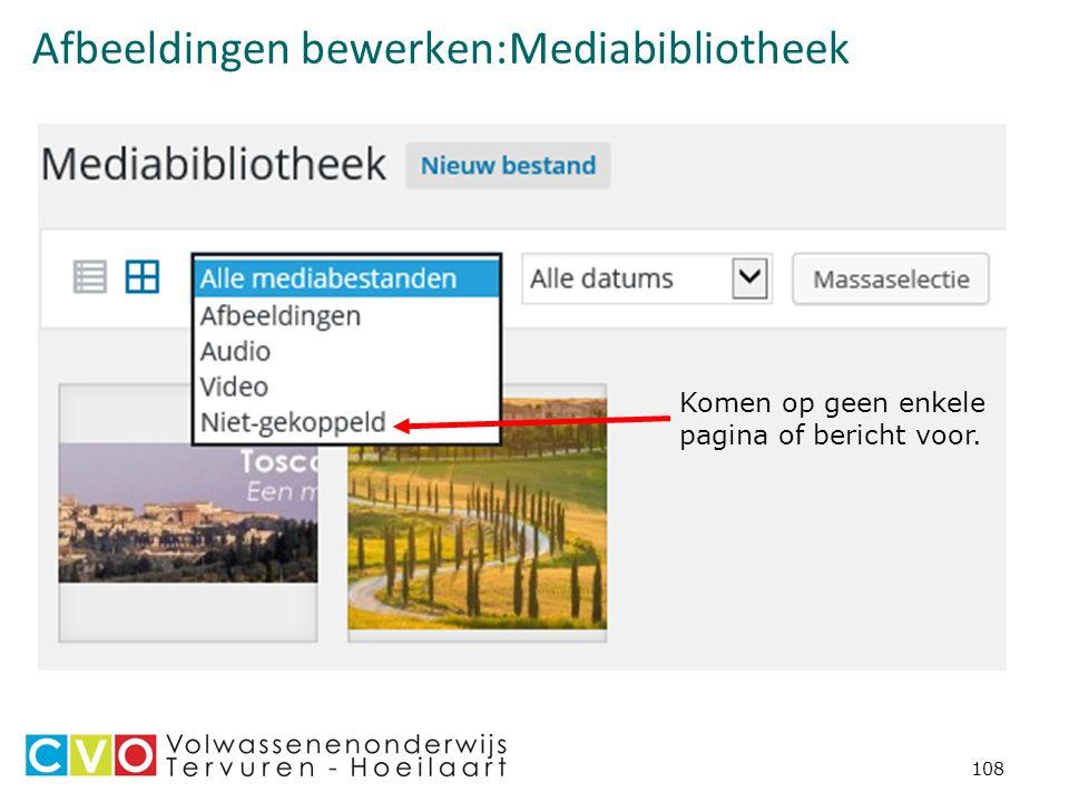 Afbeeldingen bewerken:Mediabibliotheek 108 Komen op geen enkele pagina of bericht voor.