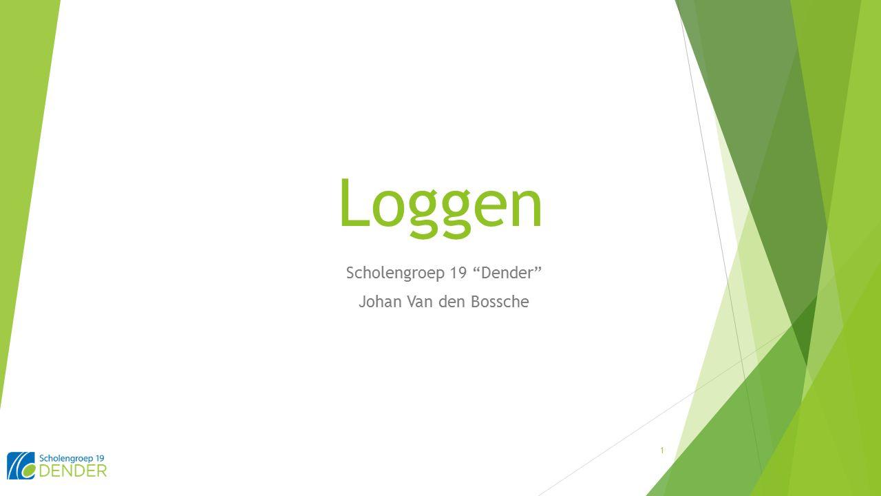 Loggen Scholengroep 19 Dender Johan Van den Bossche 1