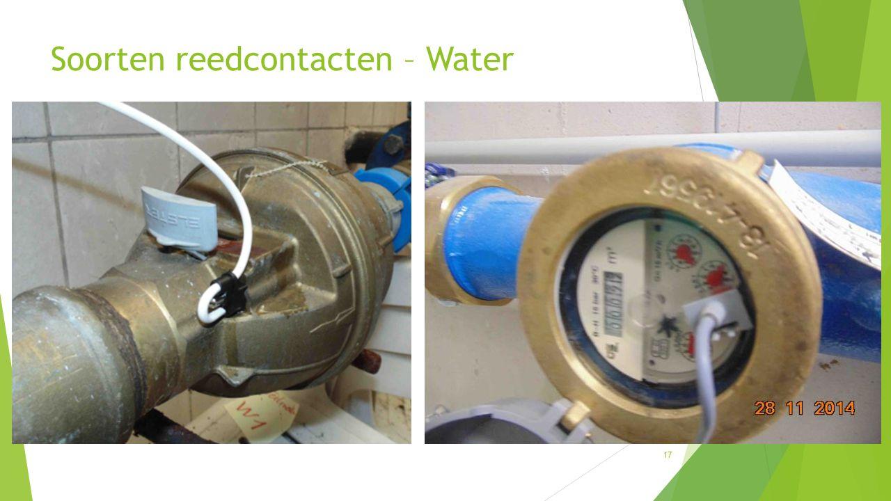 Soorten reedcontacten – Water 17