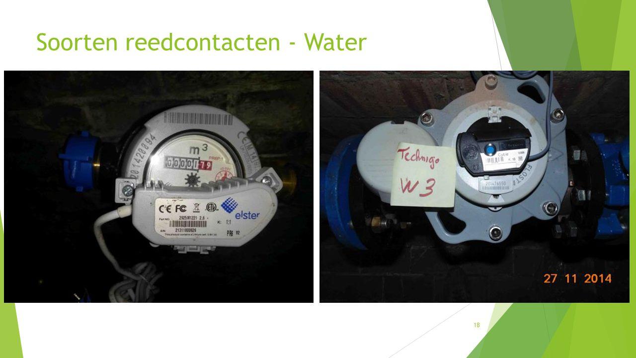 18 Soorten reedcontacten - Water