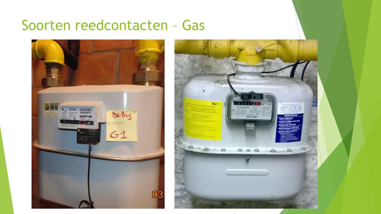 19 Soorten reedcontacten – Gas