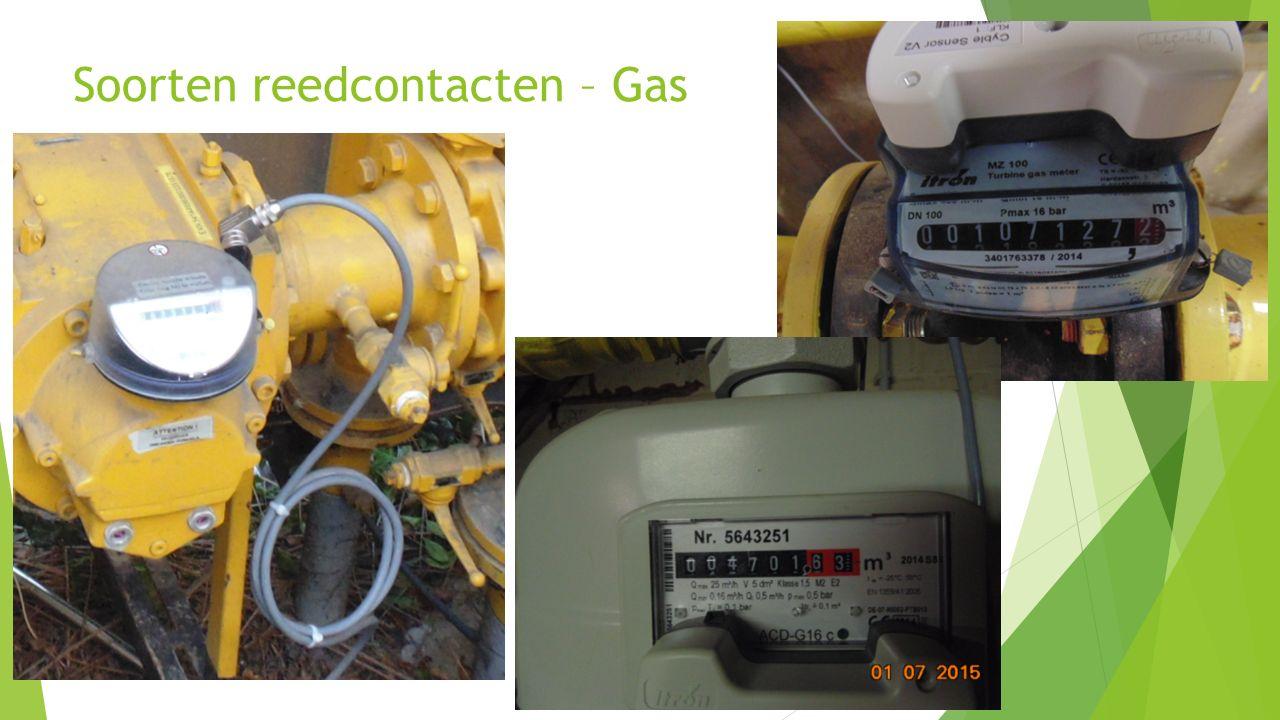 20 Soorten reedcontacten – Gas