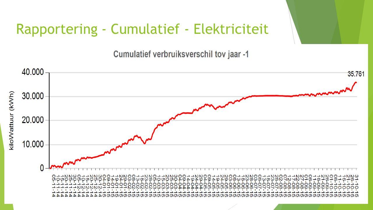 35 Rapportering - Cumulatief - Elektriciteit