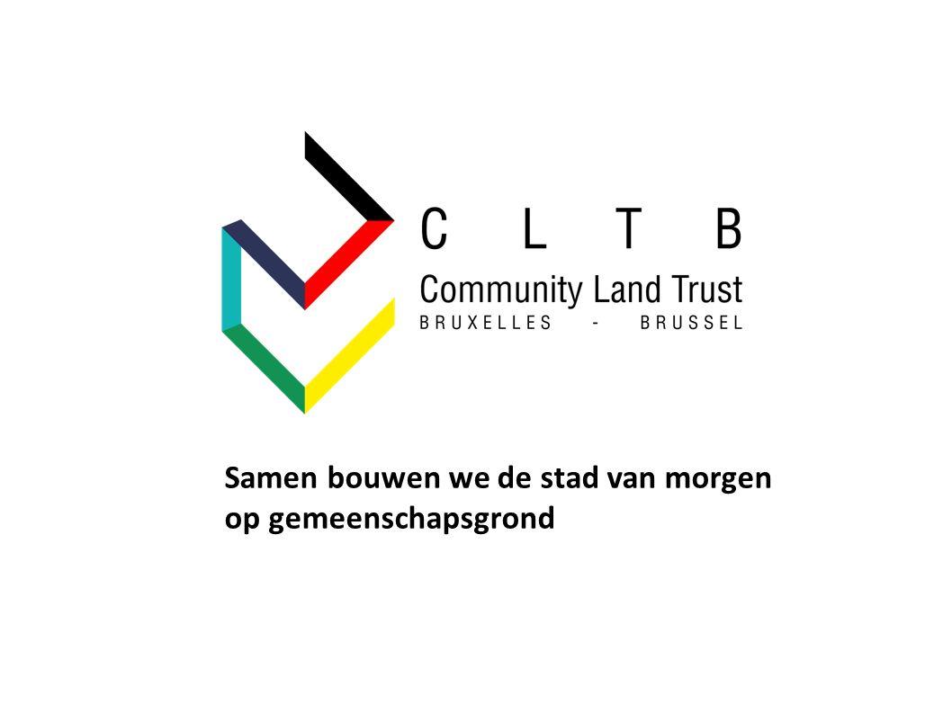 Samen bouwen we de stad van morgen op gemeenschapsgrond