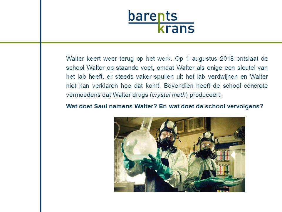De school is statutair gevestigd in Amsterdam, maar Walter werkt in Breda en woont in Den Bosch.