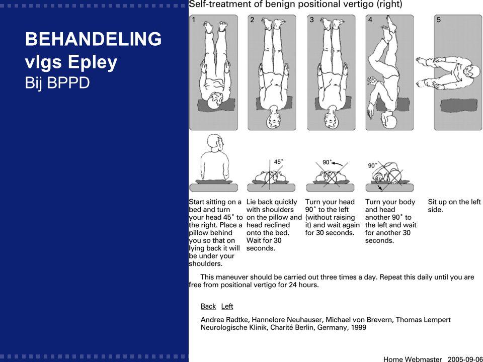 40 BEHANDELING vlgs Epley Bij BPPD