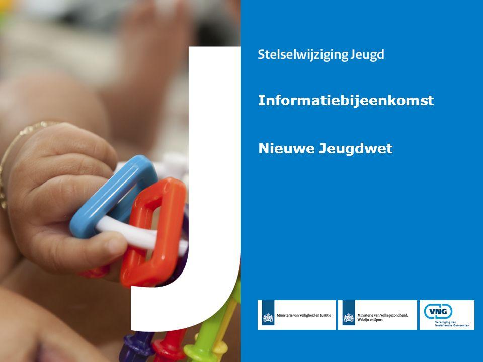 Informatiebijeenkomst nieuwe Jeugdwet 2 Inhoud A.Achtergrond stelselwijziging B.
