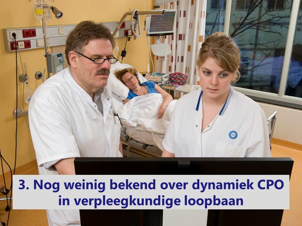 3. Nog weinig bekend over dynamiek CPO in verpleegkundige loopbaan