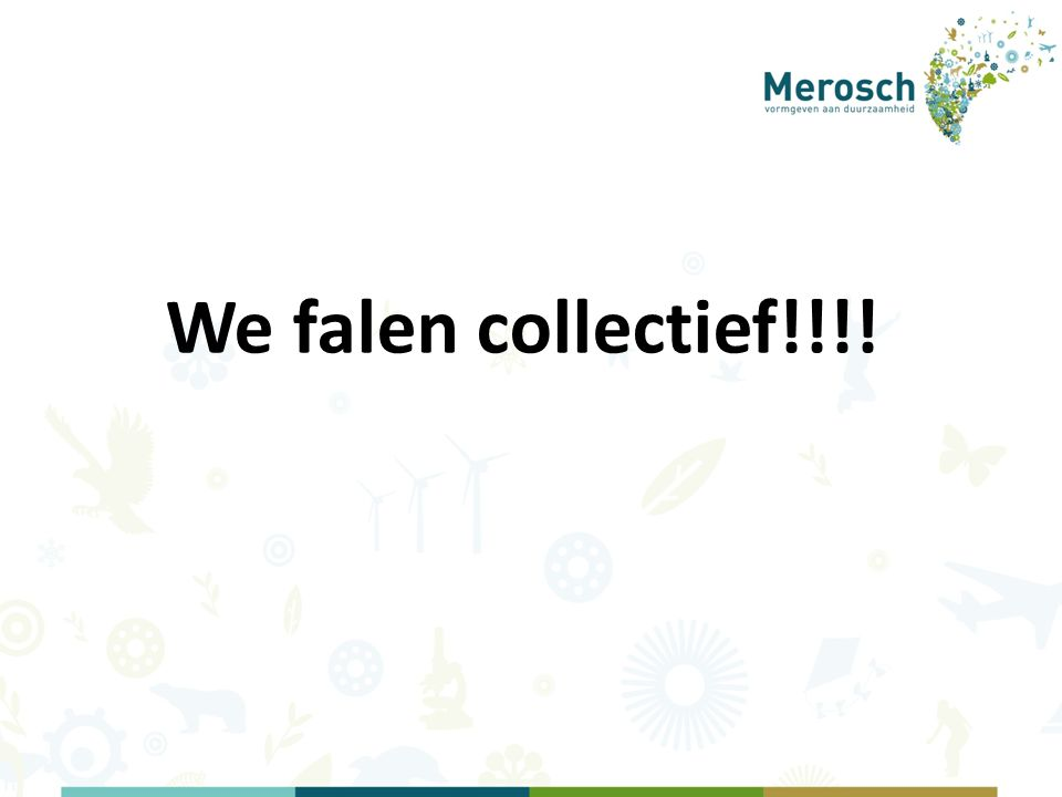 We falen collectief!!!!
