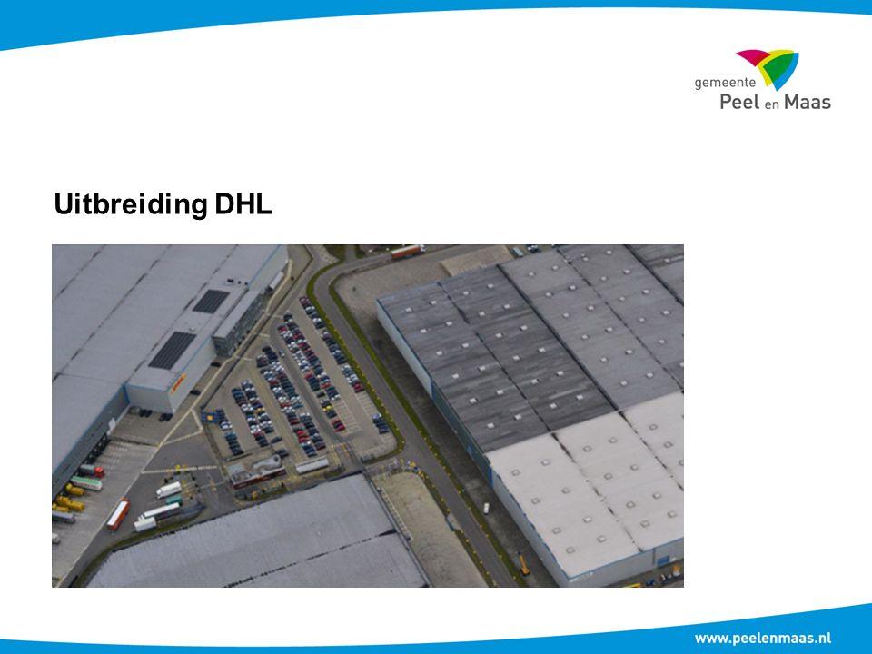 Uitbreiding DHL