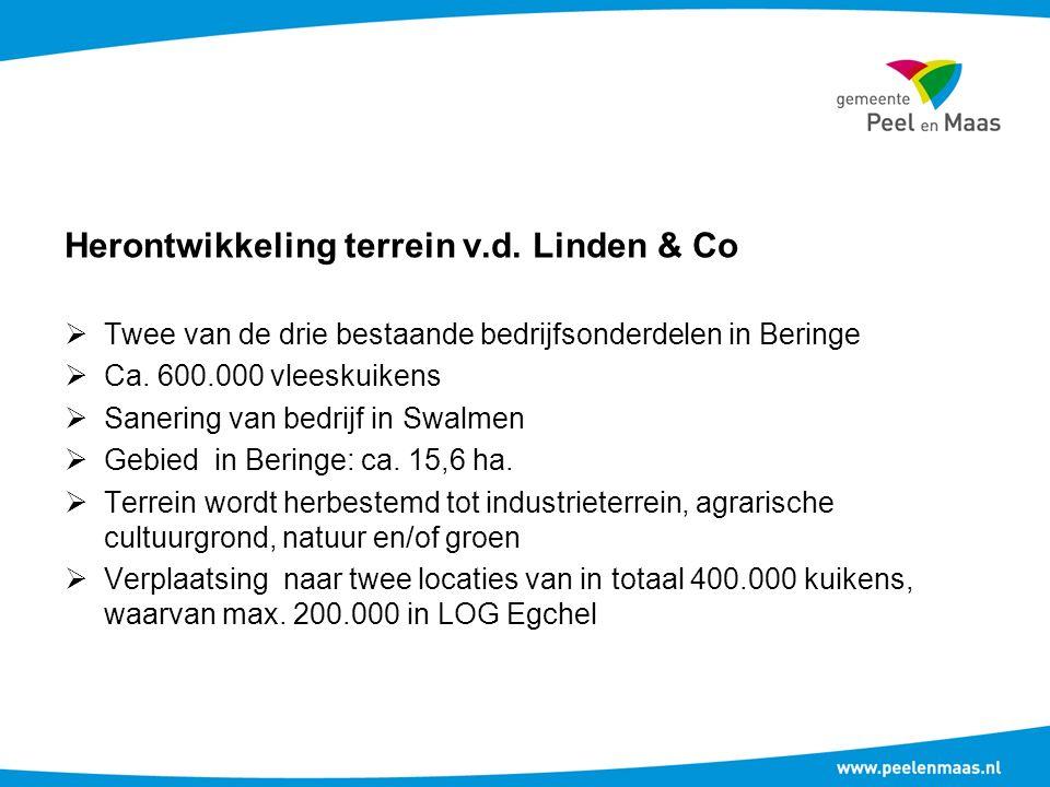 Twee van de drie bestaande bedrijfsonderdelen in Beringe  Ca.