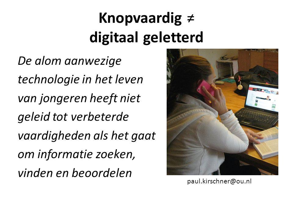 'digital natives' (Prensky, 2001), 'homo zappiens' (Veen, 2009), 'net generation' (Tapscott, 2009), 'generation y' (Black, 2012).