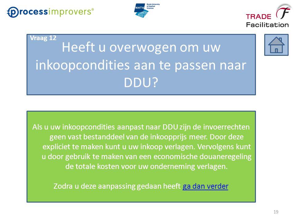 Heeft u overwogen om uw inkoopcondities aan te passen naar DDU.
