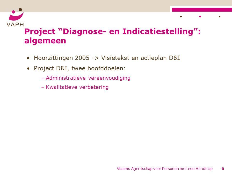 Formulieren CDP en Aanvraag hulpmiddelen Vlaams Agentschap voor Personen met een Handicap107