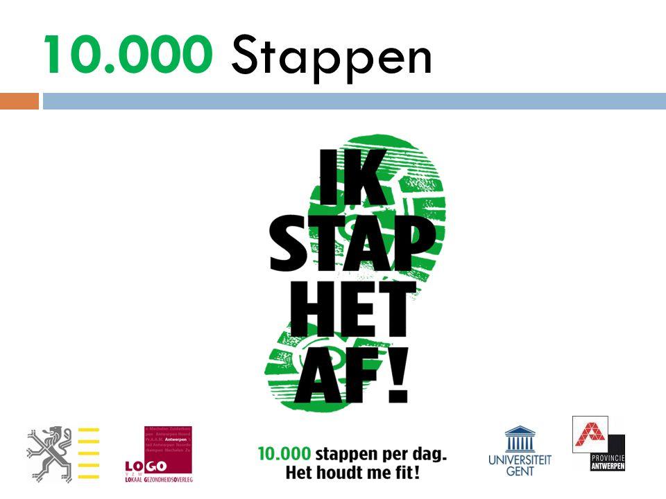 10.000 Stappen