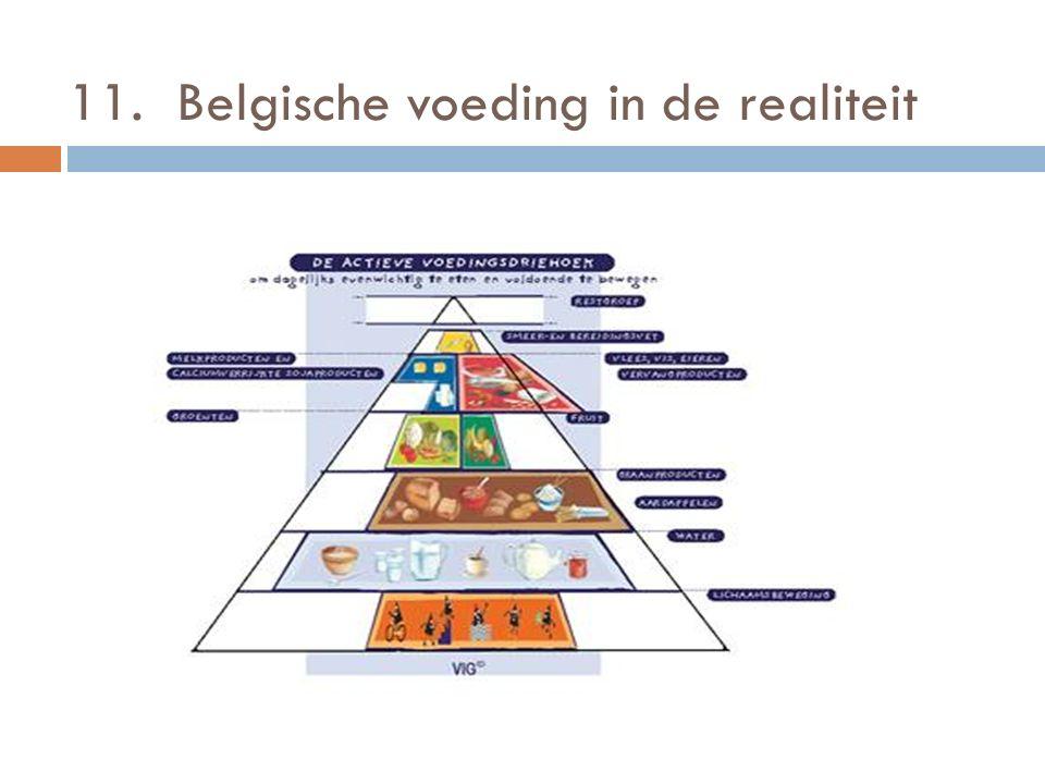 11. Belgische voeding in de realiteit