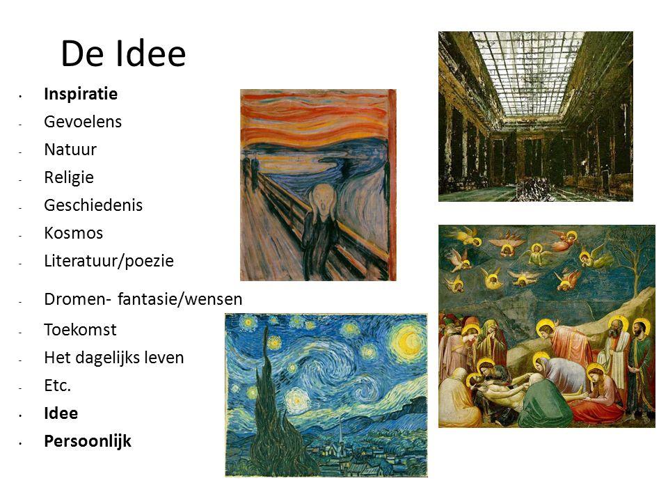 Beeldende Kunst Stijlen Figuratie realisme, naturalisme, impressionisme, expressionisme, surrealisme etc.
