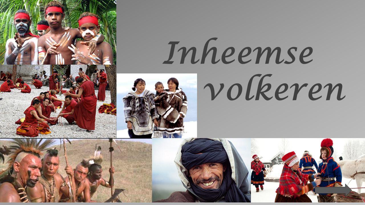 Een inheems volk is een groep mensen met een gezamenlijke afstamming, een eigen taal, een eigen cultuur, een eigen identiteit, een afgebakend woongebied.