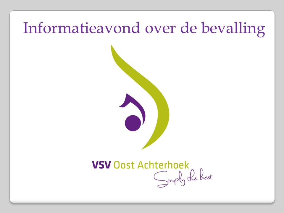 Waaruit bestaat het VSV Oost Achterhoek.