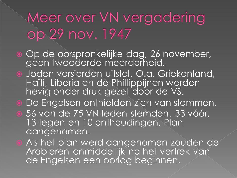  Op de oorspronkelijke dag, 26 november, geen tweederde meerderheid.