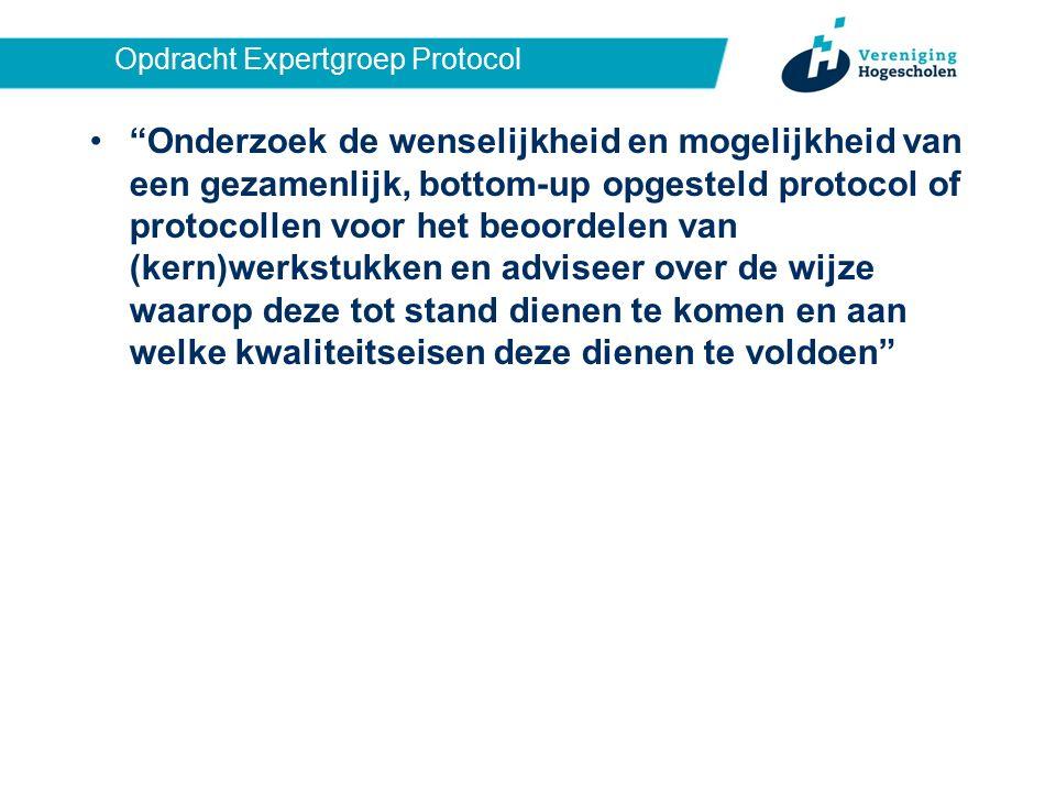 Samenstelling Expertgroep Protocol