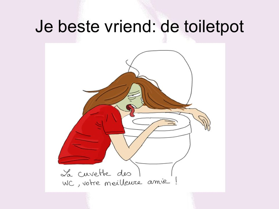 Je beste vriend: de toiletpot